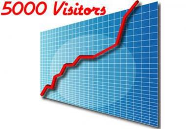 5000 زائر عالمى حقيقى لموقعك أو مدونتك