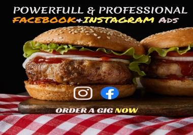 سأقوم بتصميم إعلان فيسبوك أو إعلان إنستغرام أو غلاف احترافي ب 5$