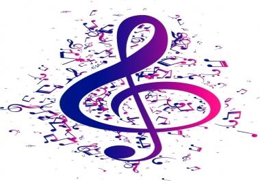 كتابة أغاني عربية