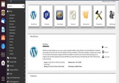 عمل موقع ووردبريس او اي موقع خاص كامل على استضافه مجانية