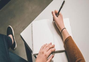 كتابة مقال حصري في كل المجالات