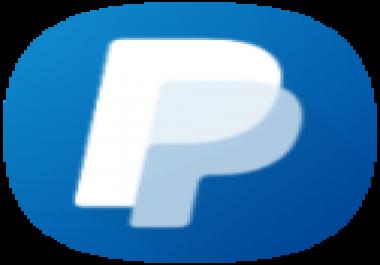 عمل حساب بيبال كامل مفعل يرسل ويستقبل الاموال