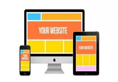 انشاء موقع الكترونى لتسويق منتجاتك website