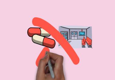 تصميم فيديو whiteboard animation