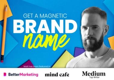 اختيار 5 اسماء المميز التسويقي لموقعك و شركتك و مشروعك وتطبيقك