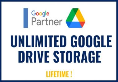 مساحة تخزين غير محدود على جوجل درايف  google drive