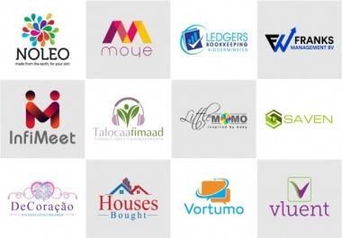سأقوم بتصميم شعار لشركتك أو عملك