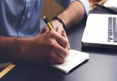 بكتابة ثلاث مقالات احترافية في اي موضوع تريده واي لغة مقابل 5 دولار