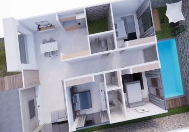 بيع مخططات منزل 11.75x25 واجهة واحدة