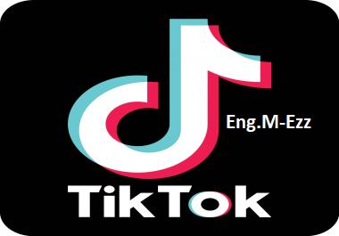 مليون مشاهدة على تيك توك tik tok
