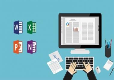 إدخال بيانات: تحويل جميع الصيغ الى ملف وورد كتابة وورد اكسل باور بوينت