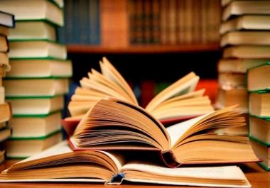 تلخيص الكتب و المقالات و الروايات و الأبحاث