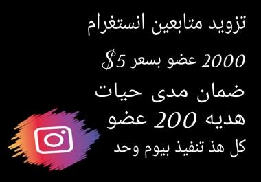 تزويد متابعين انستغرام