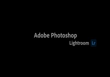 تعديل الوان واضواء الصور lightroom