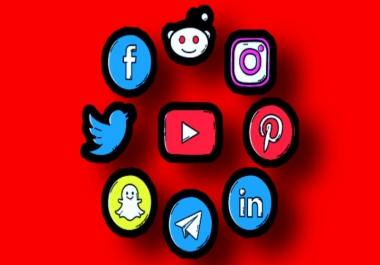 ادارة حسابات المواقع التواصل الاجتماعي