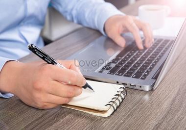 كتابة المقالات والاستبيانات