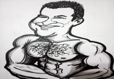 رسمة كاريكاتيرية لصوراتك
