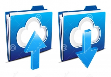 تحميل الملفات كبيرة الحجم 25GB من اي موقع و رفعها لأي موقع.