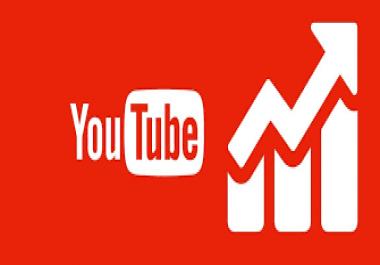 إضافة 10000 مشاهدة على اليوتيوب مقابل 20$ فقط