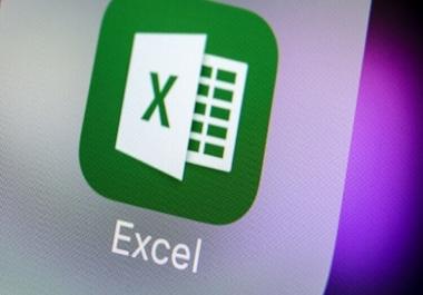 ادخال بيانات وعمل ملفات على برنامج اكسيل