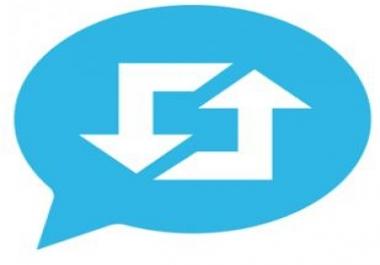 200 ريتويت لأي تغريدة تقوم بكتابتها