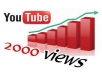 2000 مشاهد على يوتيوب سعر الخدمة