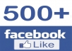 اكثرمن 500 اعجاب لصفحتك ب 5 دولار