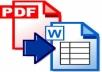 في ساعة اي برنامج وورد الى برنامج PDF والعكس