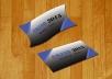 تصميم بطاقتي أعمال بطريقة احترافية بتصاميم مختلفة ومميزة