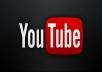 3000 مشاهده حقيقيه وامنه 100% لليوتيوب مع 50 مشترك للقناه و50 لايك للفيديو
