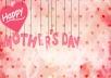 تصميم فيديوهات قصيرة بمناسبة عيد الأم