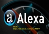 تقليل ترتيب الكسا Alexa لموقعك 2.5 مليون خلال 72 ساعة فقط