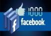 جلب 1000 معجب حقيقي و متفاعل لصفحتك على الفيسبوك
