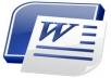 تفريغ 50 صفحة في برنامج الوورد مع التنسيق والتدقيق الاملائي