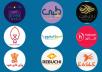 خدمة تصميم الشعارات  logo  احترافي غير مقلد ب5$ فقط   PSD