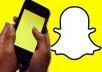 اضافة 100 متابع سناب شات snapchat عربى خليجى