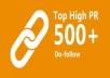 أفضل قائمه ل500 موقع بوكمارك PR 2 3 4 5 6 7 8 دوفلو