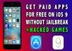 تحميل وتثبيت التطبيقات والالعاب المدفوعة للأيفون بدون جيلبريك