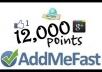 اعطيك طريقة لزيادة النقاط في موقع addmefast للحصول على خدمات مميزة