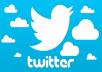 80 اوتو رتويت 30 تفضيل لتويتر خليجي لكل تغريدة حد اقصى 10 تغريدات يوميا لمدة اسبوع كامل