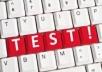 استطيع عمل اختبار للبرنامج وكتابة test case