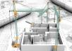 تصميم المباني السكنيه المختلفه ورسم اللوحات الانشائية والمعماريه لها