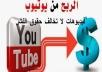 اقدم لك فيديوهات حصرية بدون حقوق لرفعها علئ يوتيوب