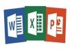 إدخال البيانات والتعامل مع الجداول والنصوص والعروض التقديمية
