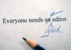 مدقق لغة انجليزية لجميع الرسائل والابحاث والمقالات والكتب
