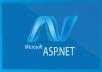 برمجة موقع إلكتروني بتقنية ASP.Net وقاعدة بيانات MS SQL