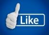 600 معجب  لايكات   عربي حقيقي لصفحتك على الفيس بوك
