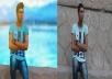 تعديل الصور الشخصيه واضافة مؤثرات وخلفيات رائعه وباحترافيه