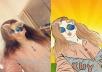 رسم صورتك او تصميم شعار او تصميم صورة غلاف للفيس بوك او اليوتيوب