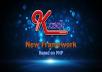 سأقدم لك kasol وهى framework جديدة من تصميمى تكتب لك اكواد كاملة بأمر واحد وتسهل عليك برمجة اى موقع  مبنية على php